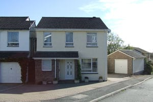 house-in-cornwall-after-painting Modern house Saltash Cornwall