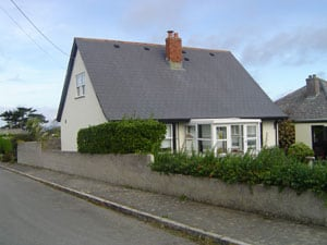 Cottage in Padstow after exterior house painting work