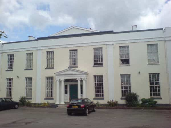 Park Manor fully painted and ready to be converted into a dining establishment and wedding venue