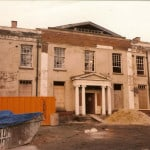 Park manor before refurbishment with rendering and wall coatings