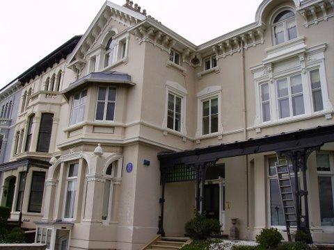 A grade 2 listed villa