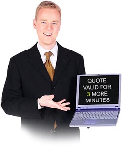 We dont hard sell to get business!