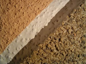 exterior coating-on-pebbledash