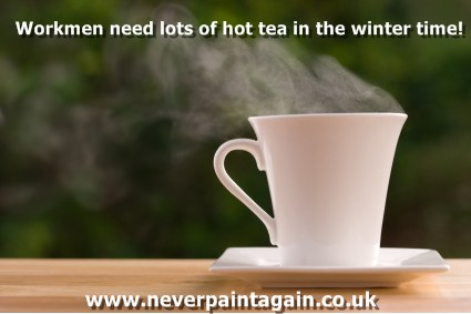 Keep your builder warm this winter with a nice cup of tea!