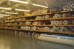 Photo of the carpet warehouse, Larry Speare Ltd