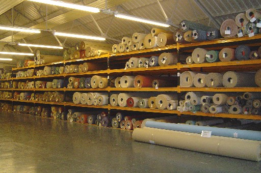 Photo of the carpet warehouse, Larry Speare Ltd