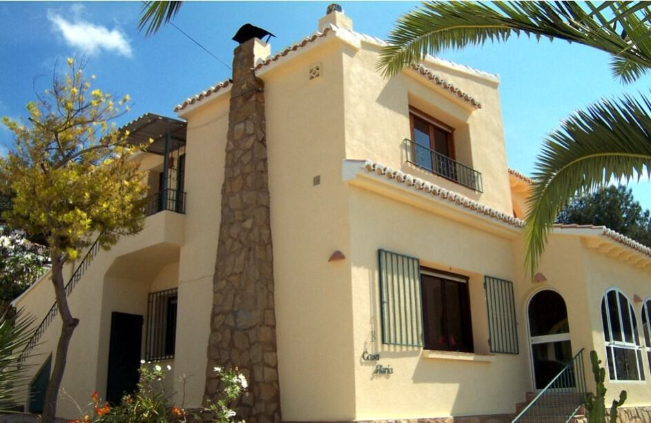 House in Spain after Andura exterior masonry coatings