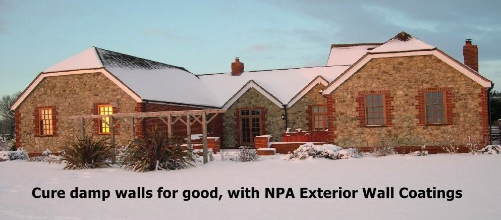 A Transparent Damp Proof Wall Coating Service That STOPS Damp And Erosion  In Brick And Stone Houses.