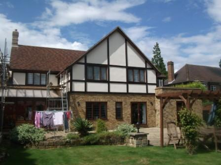 Surrey exterior house painting and decorating, at its best!
