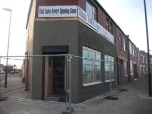 We refurbish shop fronts too!