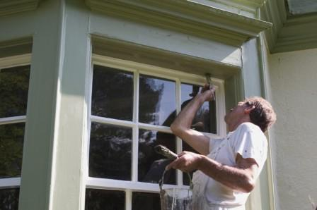 do you paint windows and other bits