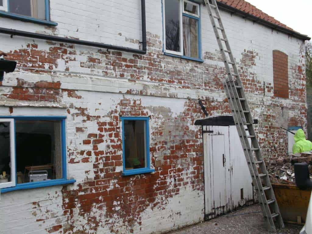 Textured Wall Coating Transforms A House In York Never