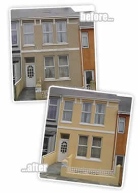 before and after wall coatings plymouth