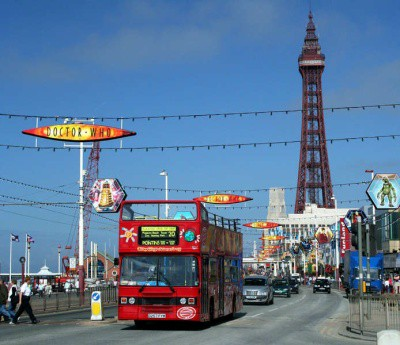 Blackpool sea front lancashire