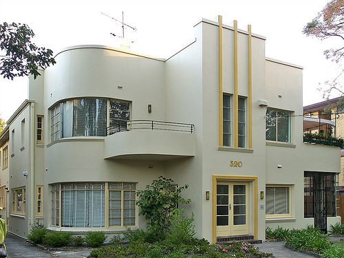We paint the exteriors of art deco houses never paint again uk - Home deco ...