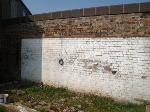 look at the state of this retaining wall
