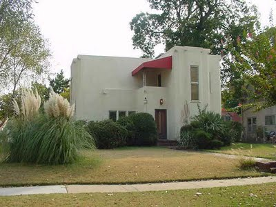 wall coatings art deco houses