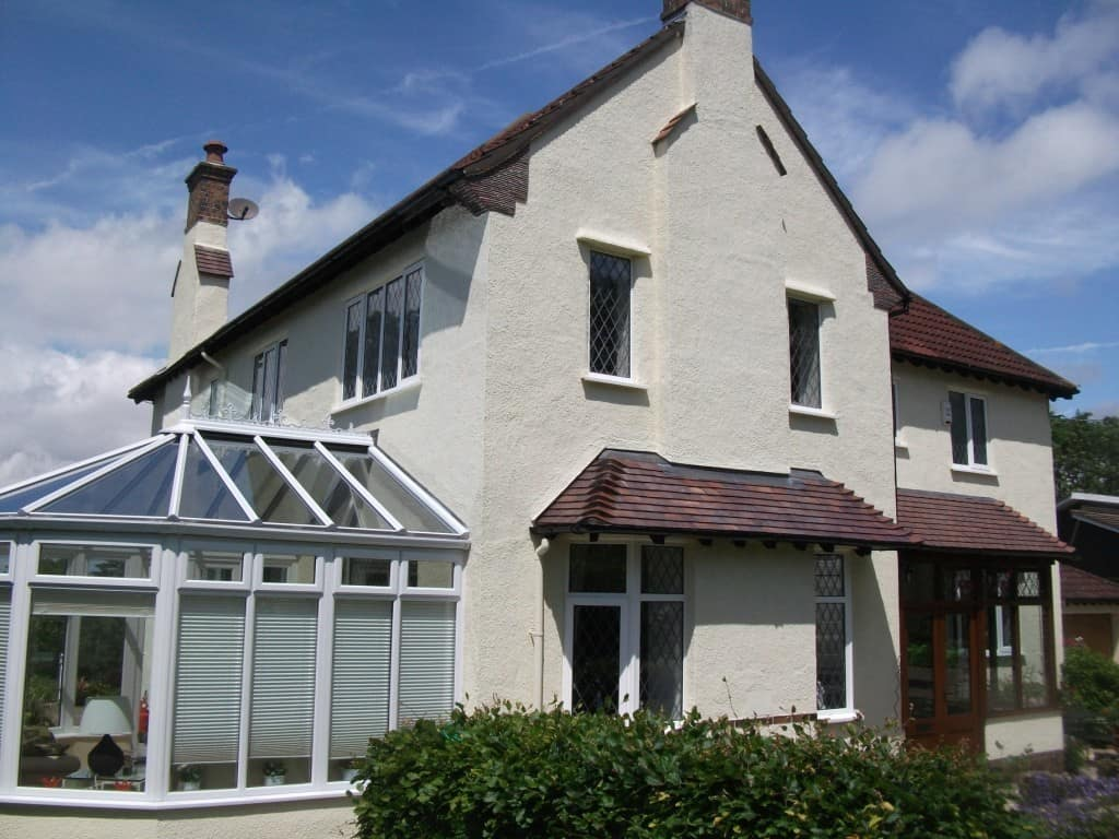 A House In Cheshire With Wall Coatings From NPA Never Paint Again UK