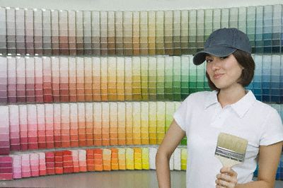 Compare paint wall coatings and colors