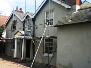 tips to paint a house with rendered exterior walls never paint again uk
