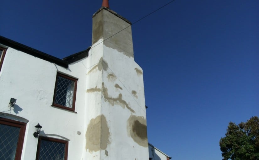 Chimney stack restoration