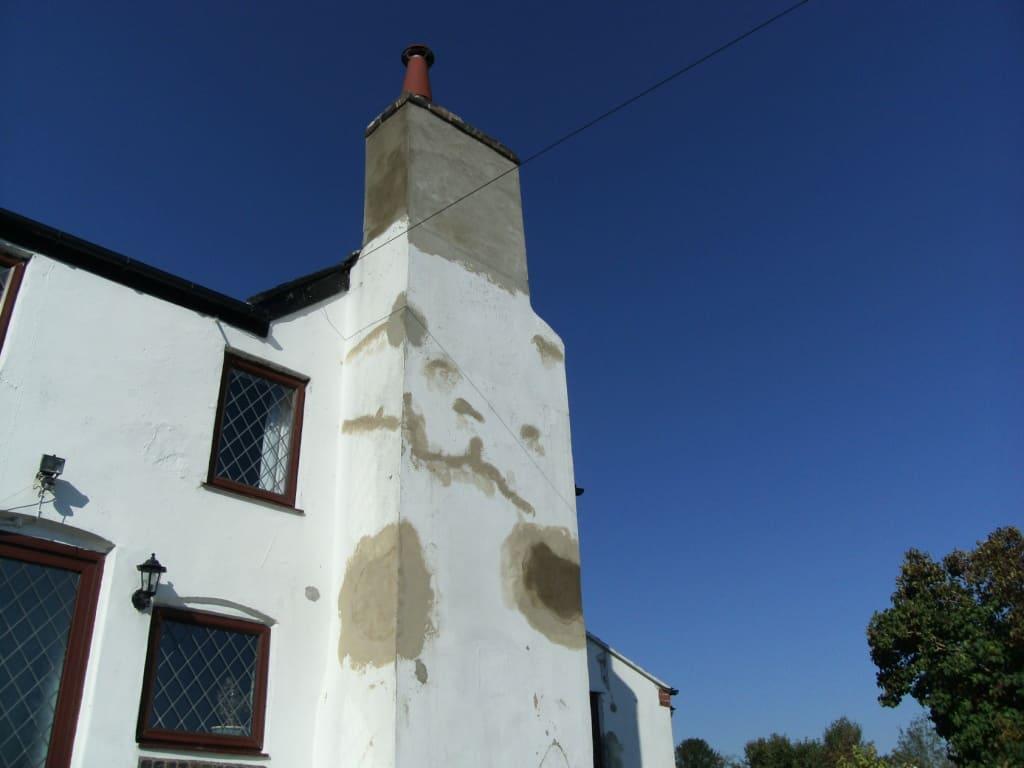 Chimney stack restoration