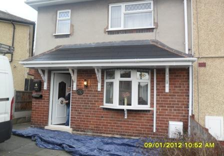 Home Improvements to a house near Dudley