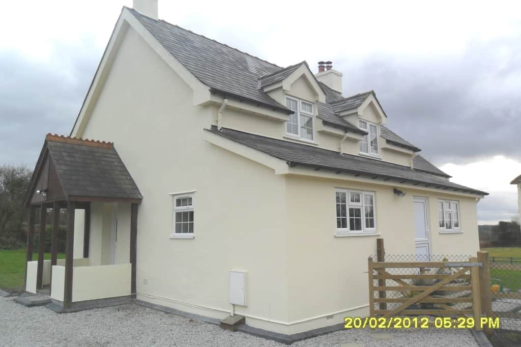 Exterior house painting at its best in Devon!