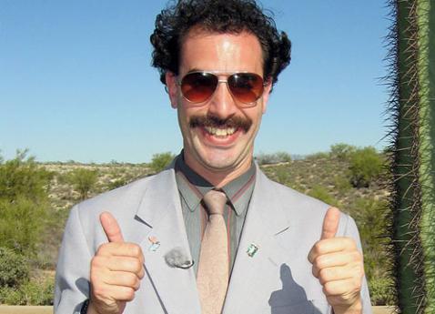 Borat style video