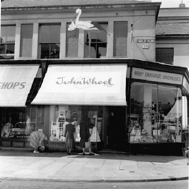 plymouth shop in 1950s