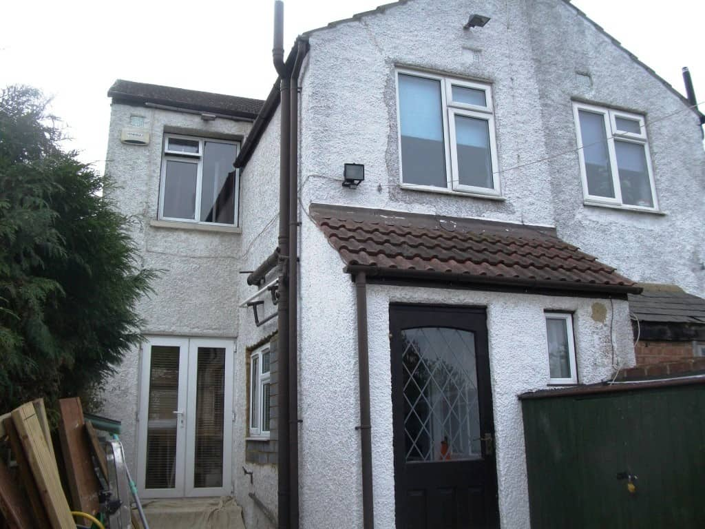 a semi detached house in need of tlc