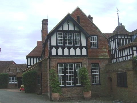 Mock tudor country home in east sussex