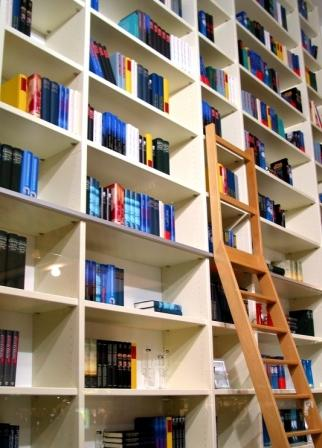 Make good use of shelving and units to maximise space