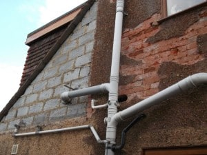 extensive repairing of render and pebbledash