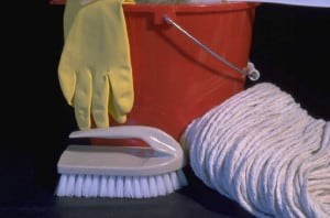 Improve your home by cleaning it