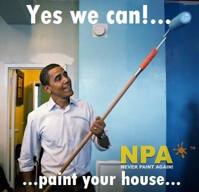 barack obama painting