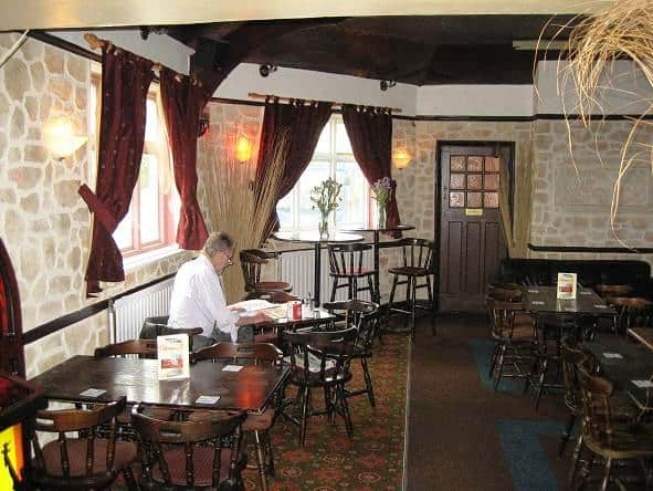 decopierre used internally in a restaurant