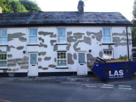 How Rendering Can Crack And Cause Damp Never Paint Again UK