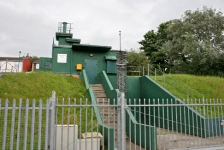 A cold war bunker in Yorkshire