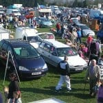 A photo of a car boot sale