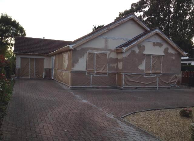 House in surrey before exterior painting