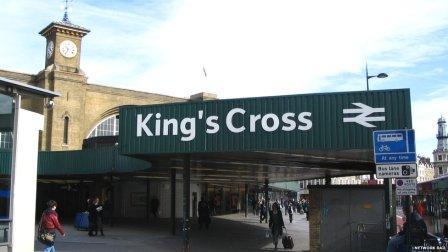 kings cross station before