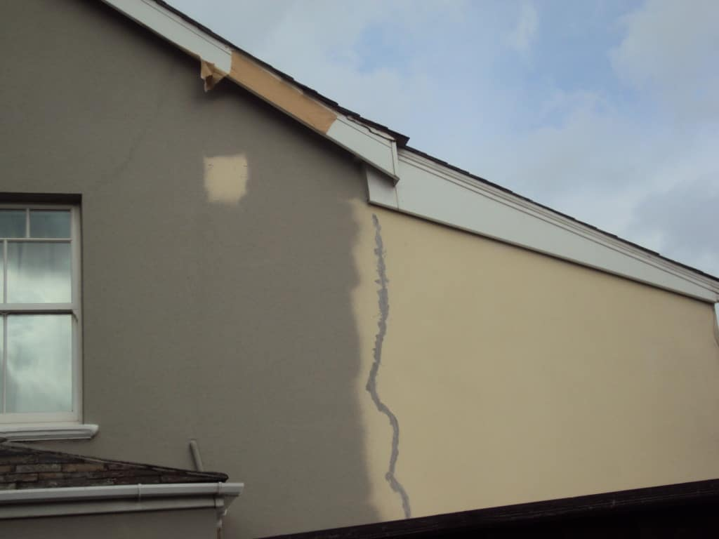 doing render repairs plymouth