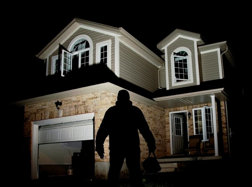 secure your home from burglars