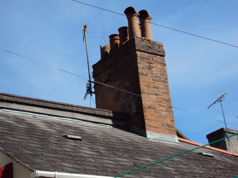 A brick built Chimney stack circa 1890