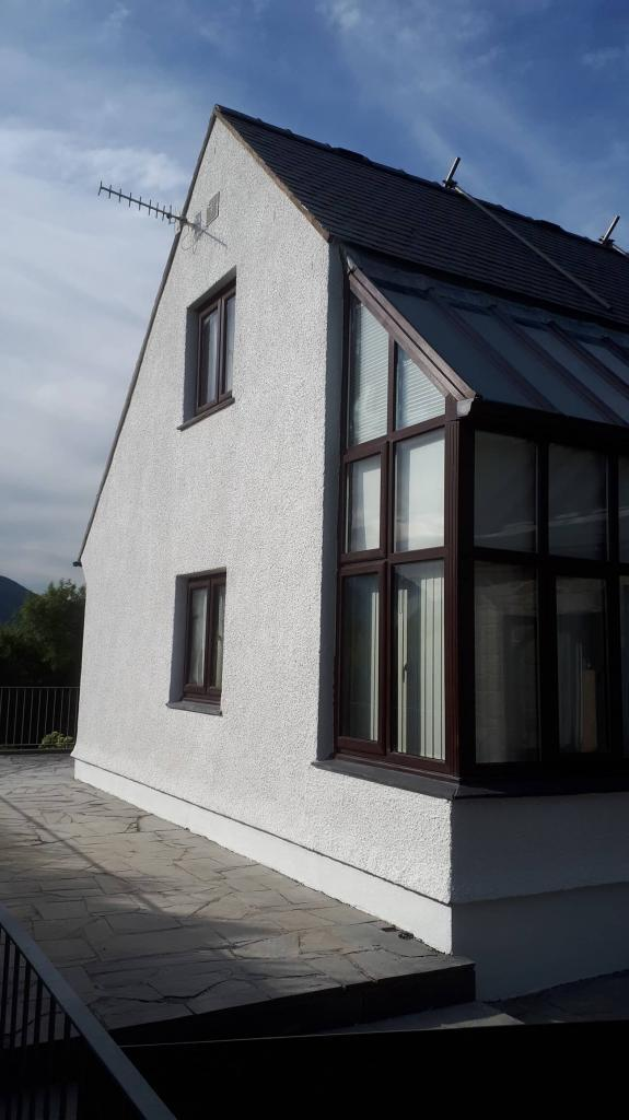 A house in Gwynedd with NEVER PAINT AGAIN wall coating-min
