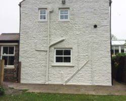 Bishop Auckland after wall coating