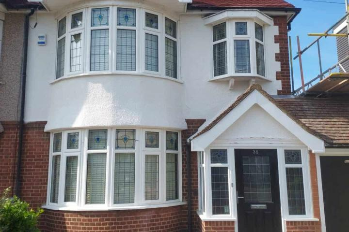 Completed upminster wall coatings