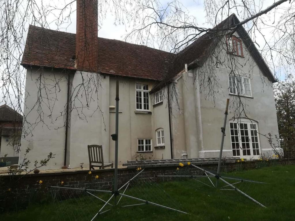 Rear of house before painting starts-min