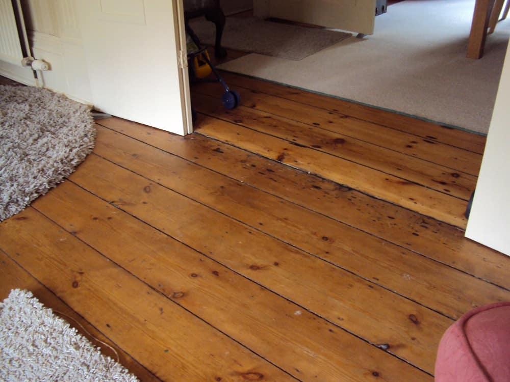 Victorian wooden flooring